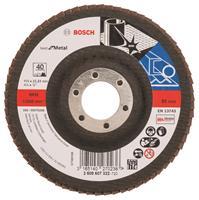 Bosch 2608607322 Lamellenschuurschijf X571 Best for Metal - K40 - 115mm - Recht