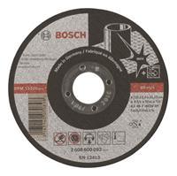 Bosch Doorslijpschijf recht AS 46 T BF 115/2mm