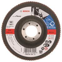 Bosch 2608607324 Lamellenschuurschijf X571 Best for Metal - K80 - 115mm - Recht