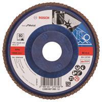 Bosch 2608607335 Lamellenschuurschijf X571 Best for Metal - K60 - 115mm - Recht