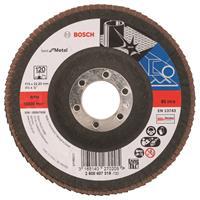 Bosch Lamellenschuurschijf 115 mm 22,23 mm 120
