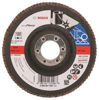 Bosch 2608607325 Lamellenschuurschijf X571 Best for Metal - K120 - 115mm - Recht