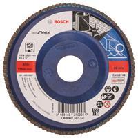 Bosch 2608607337 Lamellenschuurschijf X571 Best for Metal - K120 - 115mm - Recht