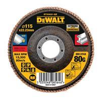 DeWalt DT30621 Lamellenschijf - K80 - 115mm