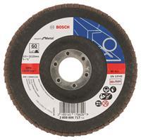 Bosch 2608606717 Lamellenschuurschijf Best for Metal - K60 - 125mm - Vlak