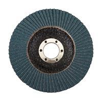 Silverline Zirkonium lamellenschijf 115 mm, 60 korrelgrofte