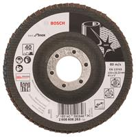Bosch 2608608263 Lamellenschuurschijf X581 Best for Inox - K40 - 115mm - Haaks