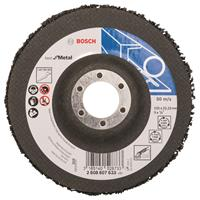 Bosch Reinigingsvlies 125 mm, 22,23 mm, SiC, 7.650 o.p.m.