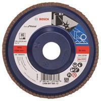 Bosch 2608607338 Lamellenschuurschijf X571 Best for Metal - K40 - 125mm - Recht