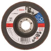 Bosch 2608607329 Lamellenschuurschijf X571 Best for Metal - K120 - 125mm - Recht
