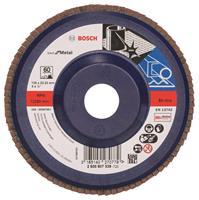 Bosch 2608607339 Lamellenschuurschijf X571 Best for Metal - K60 - 125mm - Recht