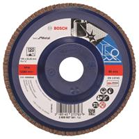 Bosch 2608607341 Lamellenschuurschijf X571 Best for Metal - K120 - 125mm - Recht