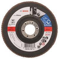 Bosch 2608607328 Lamellenschuurschijf X571 Best for Metal - K80 - 125mm - Recht