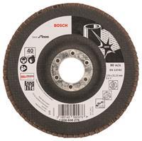 Bosch 2608608276 Lamellenschuurschijf X581 Best for Inox - K40 - 125mm - Recht