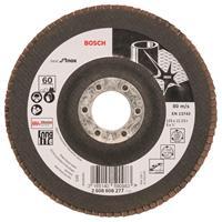 Bosch 2608608277 Lamellenschuurschijf X581 Best for Inox - K60 - 125mm - Recht