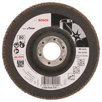 Bosch 2608608278 Lamellenschuurschijf X581 Best for Inox - K80 - 125mm - Recht