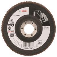 Bosch 2608607638 Lamellenschuurschijf X581 Best for Inox - K40 - 125mm - Haaks