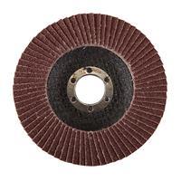 Silverline Aluminiumoxide lamellenschijf 115 mm, 60 korrelgrofte