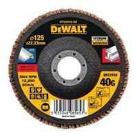 DeWalt DT30602 Lamellenschijf - K40 - 125mm