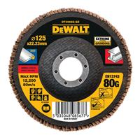 DeWalt DT30622 Lamellenschijf - K80 - 125mm