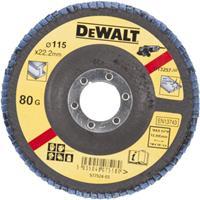 DeWalt DT3257 Gebogen lamellenschijf - K80 - 115mm