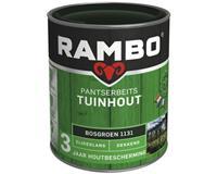 Pantserbeits Tuinhout zijdeglans bosgroen dekkend 750 ml