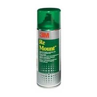 3M ReMount lijmspray. niet-permanent. 400 ml (fles 400 milliliter)