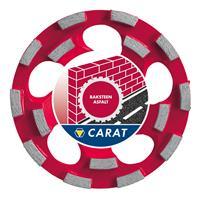 Carat CUBD1253A0 Dustec Komschijf - 125 x 22,23 x 4mm