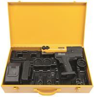 Rems 578010 R220 Mini-Press Persmachine AC 22 V Li-Ion Basis Pack Perstang + 3 GRATIS Persbekken in Koffer