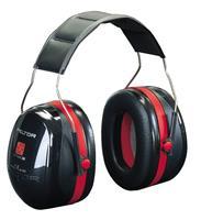 3M Gehoorbescherming optime III rood zwart