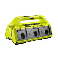 Ryobi RC18627 One+ 18V Laadstation voor 6 accu's