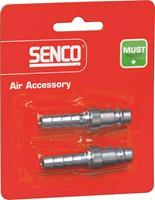 Senco 4000200 Plug universeel - Slang 6,5mm - (2st)