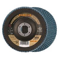 Rhodius LSZF3 ALPHALINE Lamellenschijf 125x22.23mm Korrel 40 10Stuks