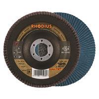 Rhodius Alphaline I LSZ F2 Lamellenslijpschijf - K80 - 125 x 22,23mm - Ferro (10st)