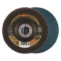 Rhodius Alphaline I LSZ F2 Lamellenslijpschijf - K60 - 125 x 22,23mm - Ferro (10st)