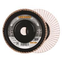 Rhodius TOPline lll LGA ALU Lamellenslijpschijf - K40 - 125 x 22,23mm - Ferro (10st)