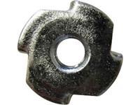 Inslagmoeren M3 Staal 10 stuks TOOLCRAFT 226777