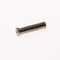 Gebrema Patenthulsmoer messing vernikkeld M4 x 22.5mm