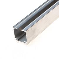 Henderson Husky schuifdeur bovenrail 280A aluminium 4000mm