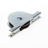 Jansen Rolslot met plaatijzeren kast polyamide wiel 50mm met groef draagvermogen 12.5kg 544
