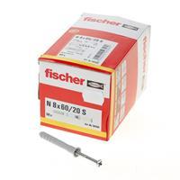 Fischer N 8x60 mm Nagelplug 50 stuks