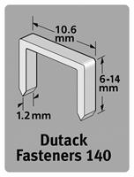 Dutack 5011017 Nieten - Serie 140 - 6mm (1000st)