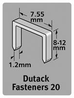 Dutack 5011009 Nieten - Serie 20 - 12mm (1000st)
