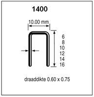 Dutack 5042007 Nieten - Serie 1400 - 6mm (10000st)