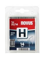 novus nieten dundraad H37 14 mm1000 stuks