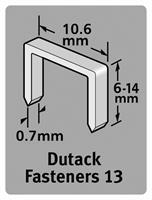 Dutack 5011001 Nieten - Serie 13 - 6mm (1000st)