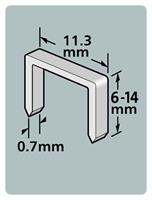 Dutack 5011012 Nieten - Serie 53 - 6mm (1000st)