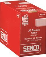 Senco A6003 Nieten  in Blister - A-vorm - 21 gauge - gegalvaniseerd - 12x12,7 mm (1000st)
