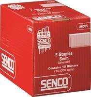 Senco A6005 Nieten  in Blister - F-vorm - 20 gauge - gegalvaniseerd - 6,4x12,7 mm (1000st)