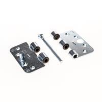 Axa Smart easyfix veiligheidsscharnier topcoat gegalvaniseerd 89 x 102 x 3mm SKG*** 1687-10-23/7V